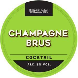 Urban Cocktail Champagne Brus