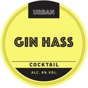 Urban Cocktail Gin Hass